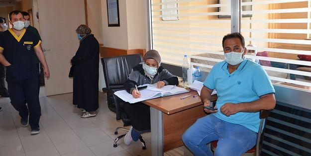 Darende'de Korona'ya karşı yaklaşık 9 bin kişi aşılandı