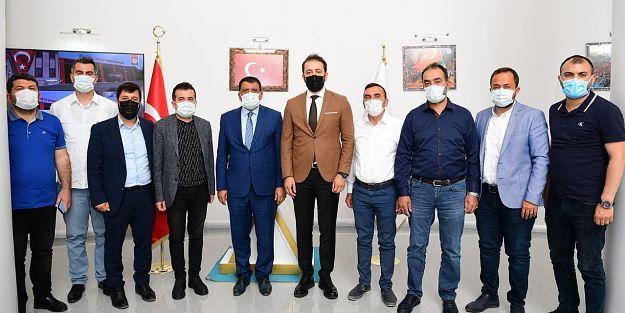 MİDER Yönetimi Başkan Gürkan'a sorunları anlattı