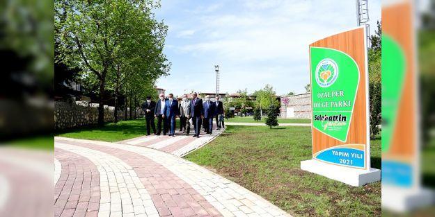 Gürkan: Malatya'da Yeşil Alan Miktarını iki katına çıkarıyoruz