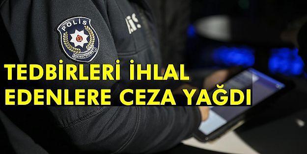 Malatya'da Kovid-19 tedbirlerini ihlal eden 79 kişiye ceza