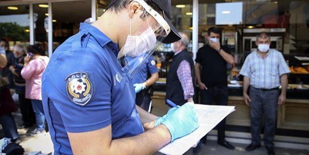 Malatya'da Kovid-19 tedbirlerini ihlal eden 95 kişiye 85 bin 500 lira ceza
