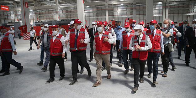 Türk Kızılay Malatya  Üretim Üssünü Açtı