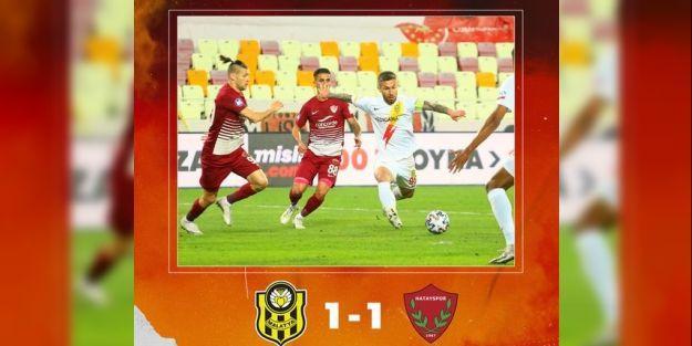 Yeni Malatyaspor: 1 - Hatayspor: 1