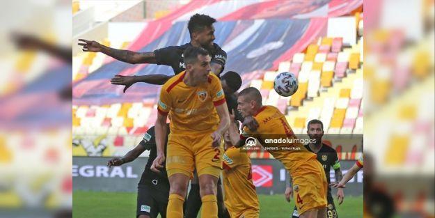 Yeni Malatyaspor, bir puanı zor kurtardı:1-1
