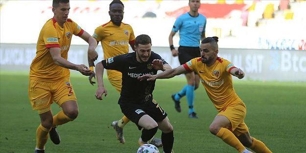 YeniMalatyaspor beraberlik sayısını 14'e çıkardı