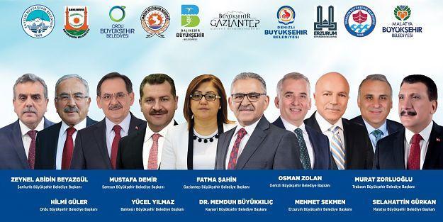 9 büyükşehir başkanı Kayseri'de buluşacak