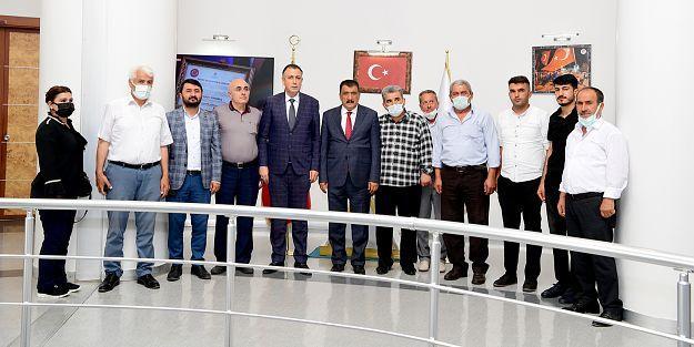 AK PARTİ'DEN GÜRKAN'A ZİYARET