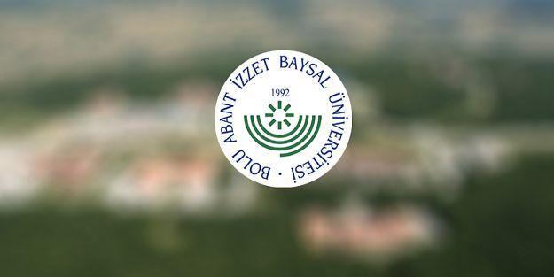 Bolu Abant İzzet Baysal Üniversitesi 5 Araştırma Görevlisi alıyor