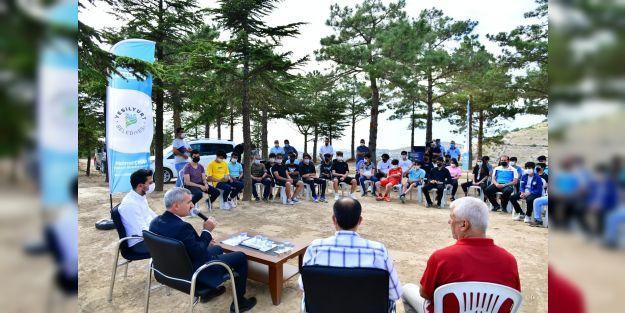 """Çınar: 'Gençlik ve spor yatırımlarında büyük mesafeler aldık"""""""