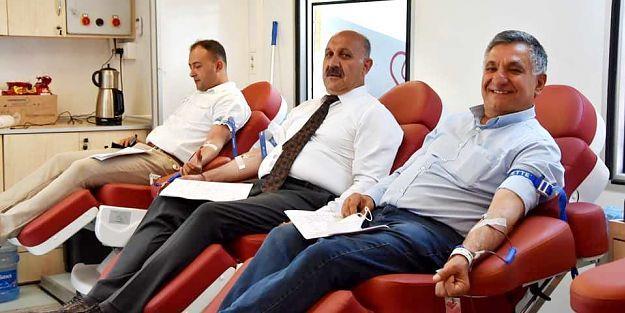 Doğanşehir Belediyesinden Kan Bağışı