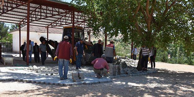 Doğanşehir'de Çalışmalar Sürüyor