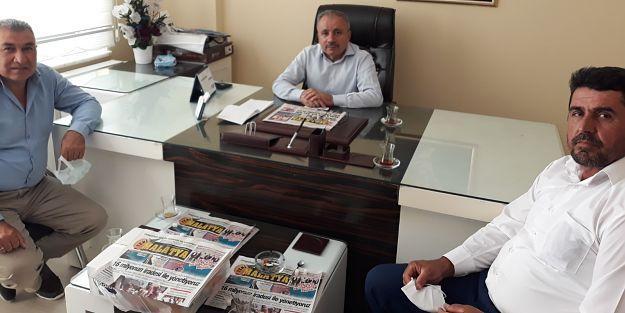 Kale MHP İlçe Başkanı Avcı Gazetemizi ziyaret etti