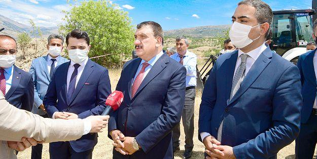 """'MALATYA'YA 12 ADET ARITMA TESİSİ YAPIYORUZ"""""""