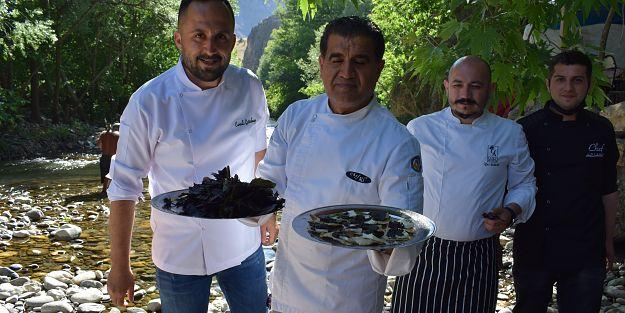 Mor reyhan sosu İtalya'nın sosuna rakip oldu