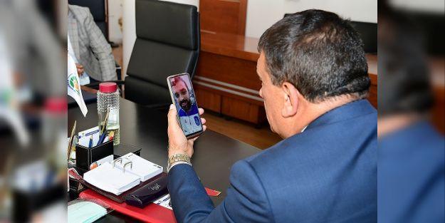 Selahattin Gürkan, Anadolu Efesli Simon ile görüştü