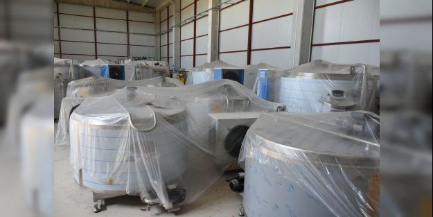 Süt toplama merkezi üreticiye ek gelir sağlayacak
