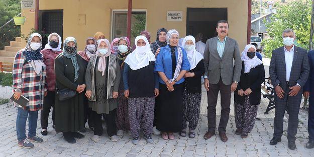 Tüfenkci'den Arapgir ilçesine ziyaret