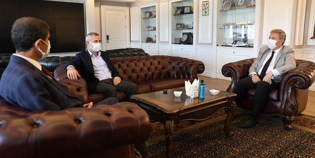 Yeşilyurt Belediye Başkanı Çınar kardeş Melikgazi'de