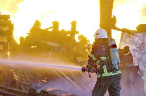 Basınçlı hava ekipleri alarma geçirdi