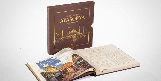 """'Basının Gözünden Ayasofya"""" kitabı yayımlandı."""