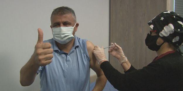 Covid-19 aşısı Malatya'da rağbet görüyor