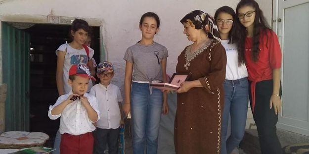 Kendisi okuyamadı çocuklar okusun istedi