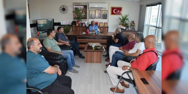 MGC'DEN MHP MYK ÜYESİ GÖNÜLTAŞ'A ZİYARET
