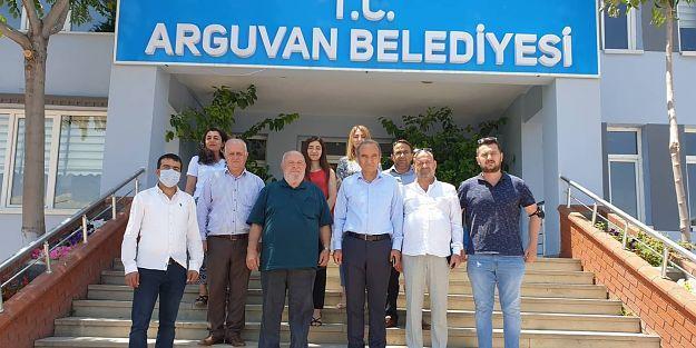 Musa Eroğlu Arguvan Belediyesini Ziyaret Etti