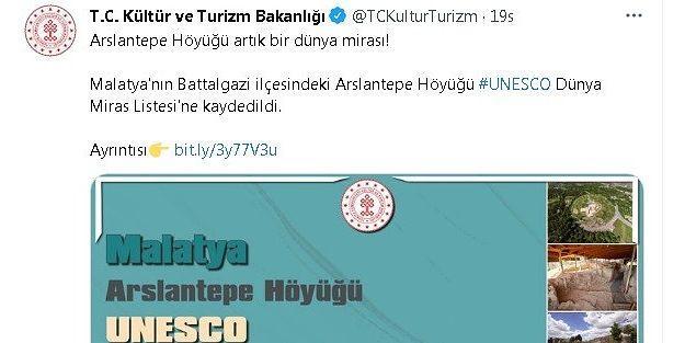 Sosyal medyada Arslantepe Höyüğü heyecanı