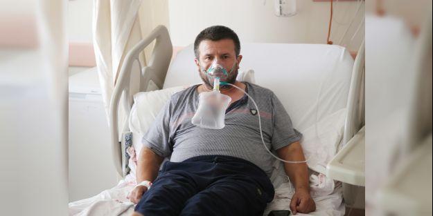 """Aşı yaptırmamanın pişmanlığını yaşayan Kovid-19 hastası  'Mutlaka aşı yaptırın"""""""