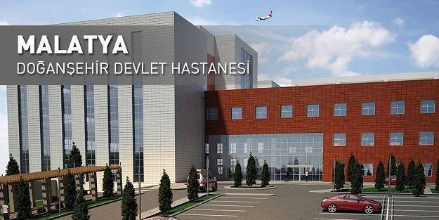 Doğanşehir Devlet Hastanesi açılmayı bekliyor