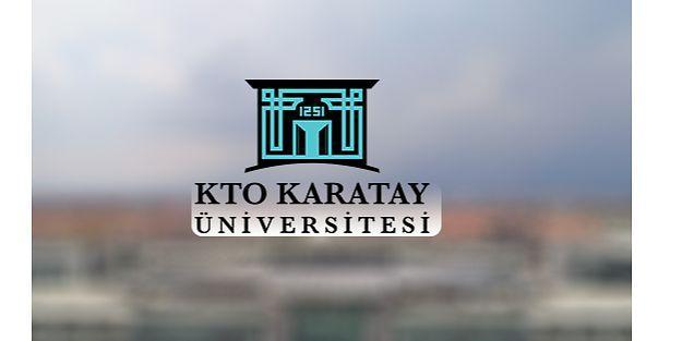 KTO Karatay Üniversitesi 1 Öğretim Görevlisi ve 1 Araştırma Görevlisi alıyor