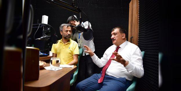 MalatyaBüyükşehir Radyosu'ndan ilk yayın Zafer Bayramı günü