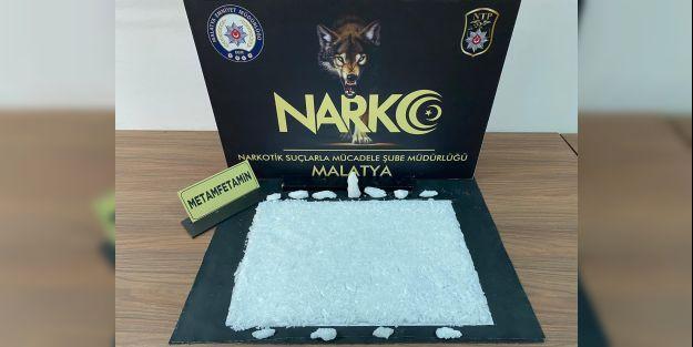 Malatyapolisinden uyuşturucu tacirlerine bir darbe daha