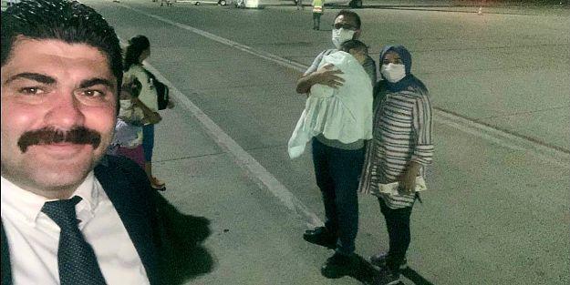 SMA Hastası Eyüp Çınar Tedavi İçin Dubai'ye Gitti