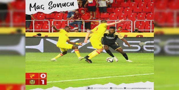 Yeni Malatyaspor, Göztepe'den 3 Puanı Tetteh'le Aldı: 0-1