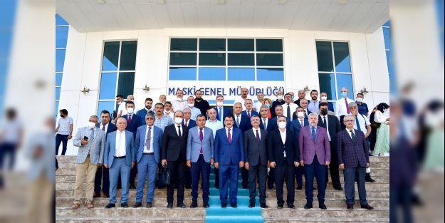 BAŞKAN GÜRKAN'DAN MASKİ'YE ZİYARET