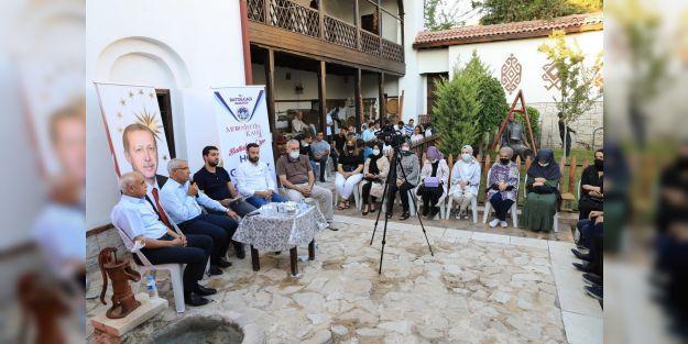 Battalgazi'de gençlerle gönül buluşmaları yoğun ilgi görüyor