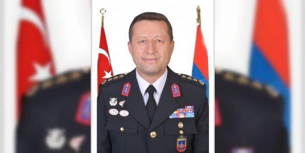 Jandarma Komutanlığı'na atanan Altın göreve başladı