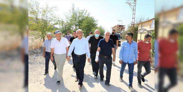 Orduzu ve Kaldırım'da çalışmalar sürüyor
