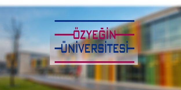 Özyeğin Üniversitesi 4 Araştırma Görevlisi alıyor