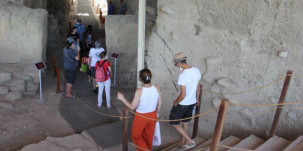 UNESCO mirası Arslantepe'ye ziyaretçi sayısı 10 kat arttı