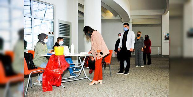 Büyükşehir Belediyesinden Aşı Kampanyasına Destek