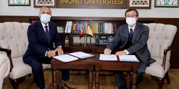 İnönü Üniversitesi'nde HEGEM arasında protokol