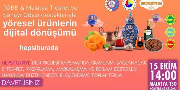 Malatya'nın yöresel ürünlerinde e-ticaret atağı