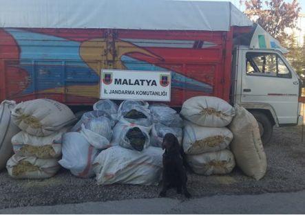 250 kilo esrar ele geçirildi