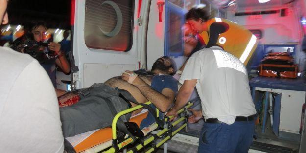 3 kardeş silahla yaralandı