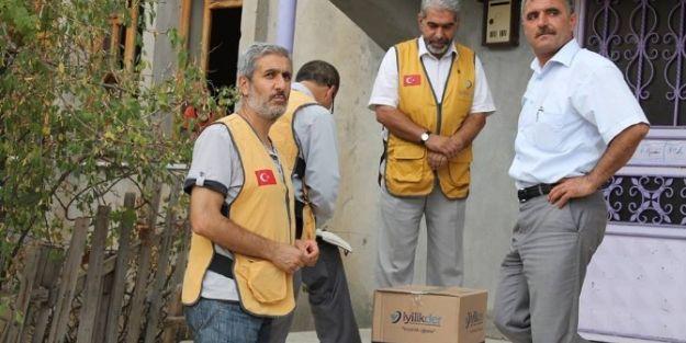 600 Aileye Ramazan Kumanyası Dağıtıldı
