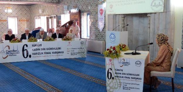 6. Türkiye Kadın Din Görevlileri Hafızlık Final Yarışması Yapıldı