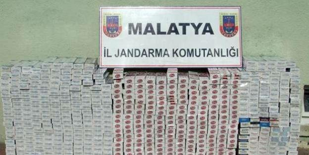 9 Bin 300 Paket Kaçak Sigara Ele Geçirildi